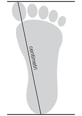 Marime picior
